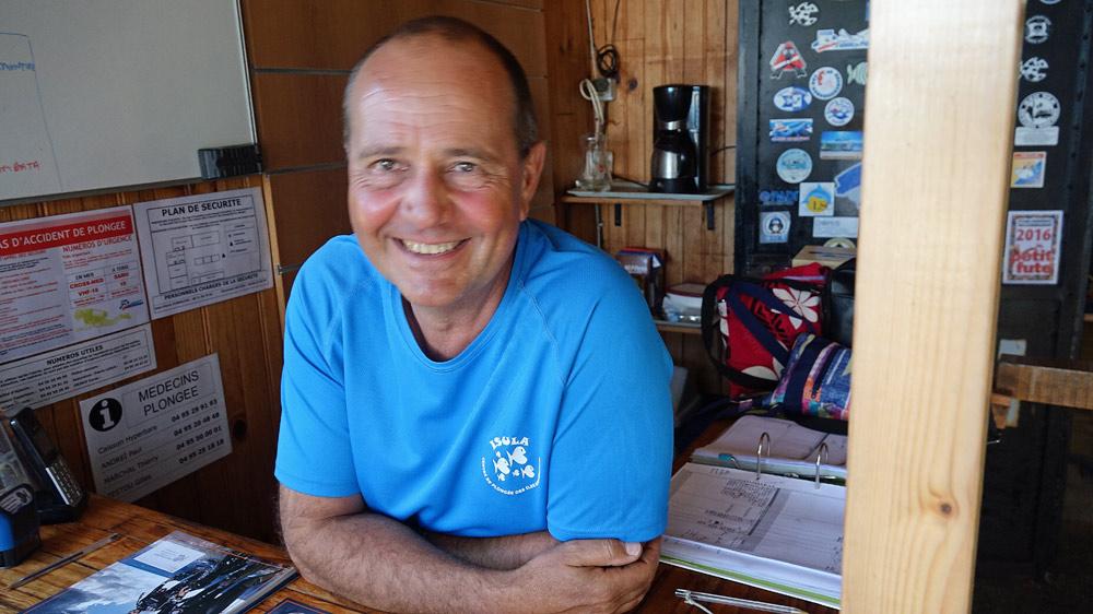 Jean-Pierre, le responsable d'Isula