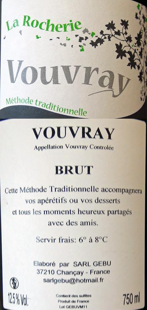 Vouvray de Sébastien Brunet
