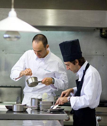 Le chef en cuisine (photo issue du site du restaurant)