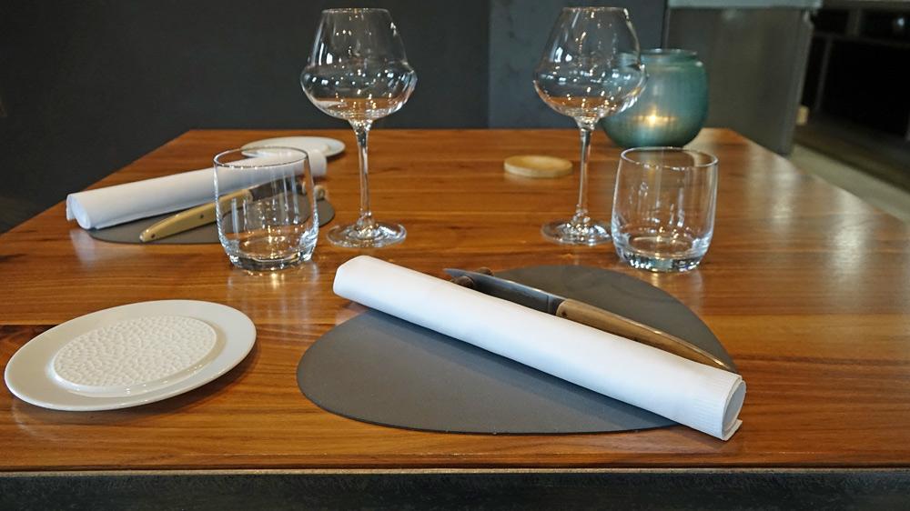 La mise de table