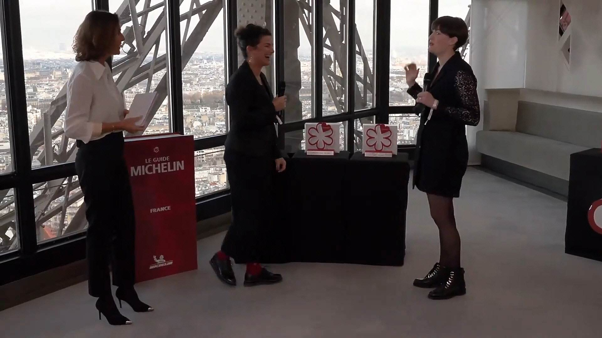 Delphine Alemany et Marion Denieul -  Crédit photo Michelin