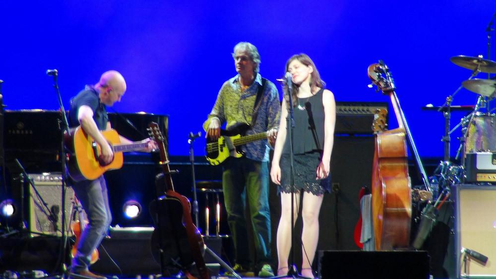 Mark Knopfler et ses musiciens, avec Ruth Moody - Zénith de Paris le 2 juin 2015