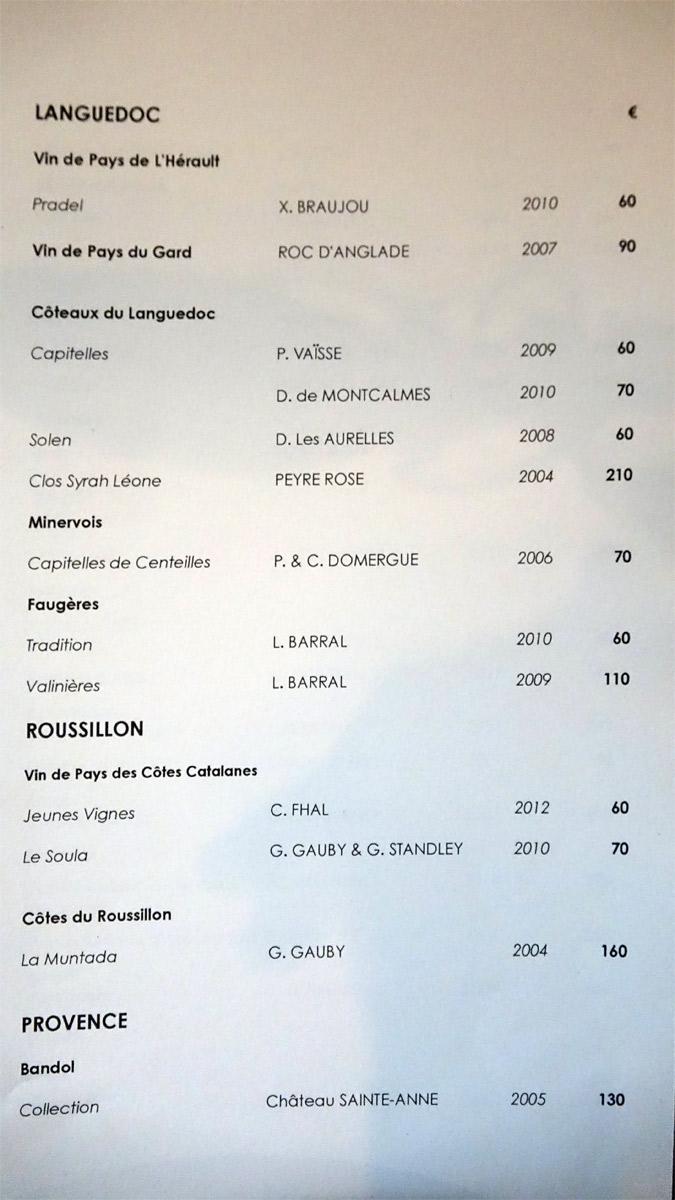 Languedoc, Roussillon et Provence