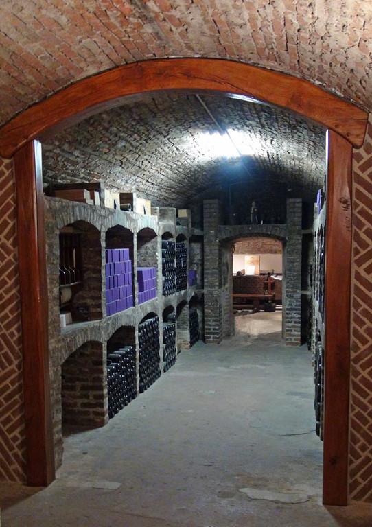 L'entrée du caveau