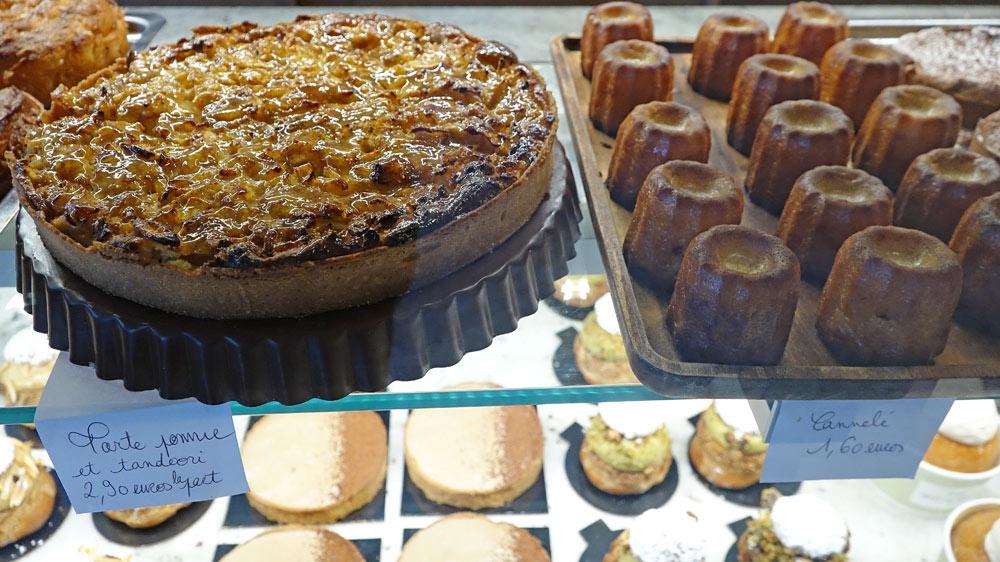 Tarte pomme et tandoori - Cannelé