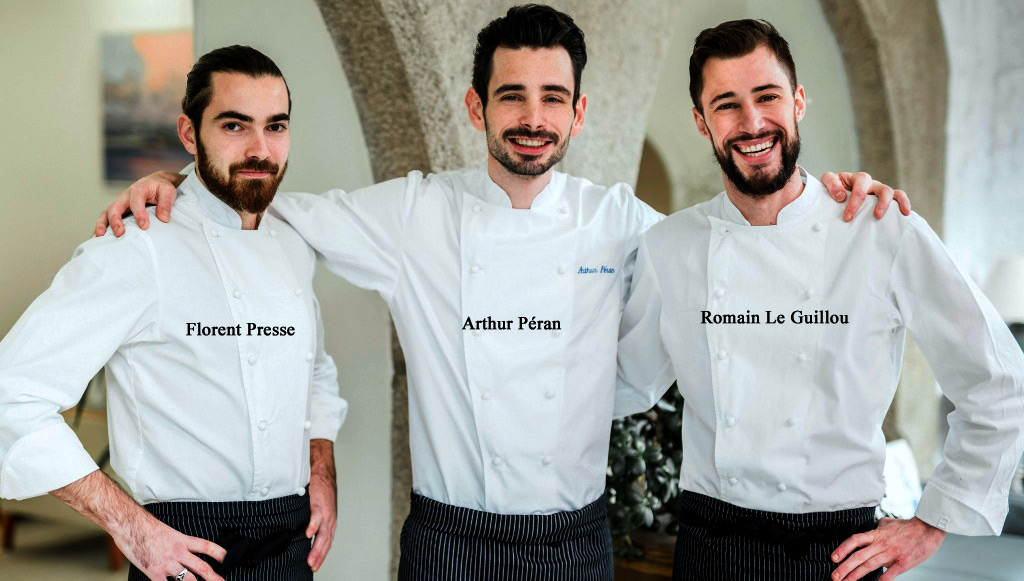 """L'équipe en cuisine - Crédit photo """"Le Rackham"""""""