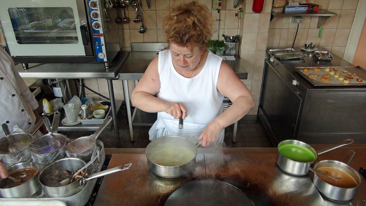 Françoise Boisgard aux fourneaux