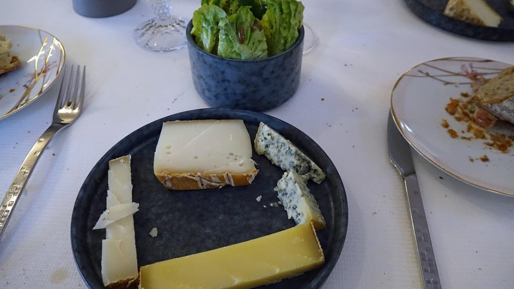 Mes fromages : Ibargui, Tomme de chèvre au Chouchen, Bleu de Gex et Kaltbach