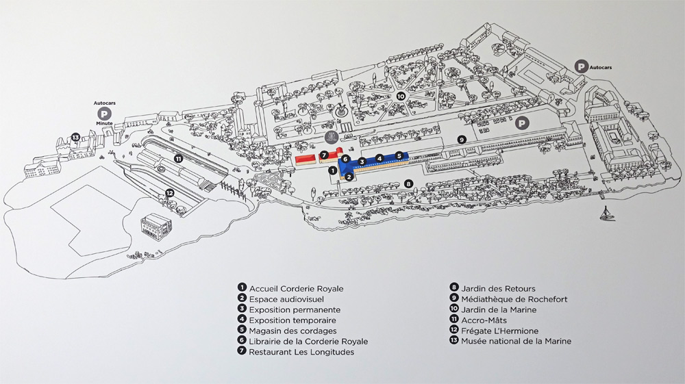 Plan de la Corderie