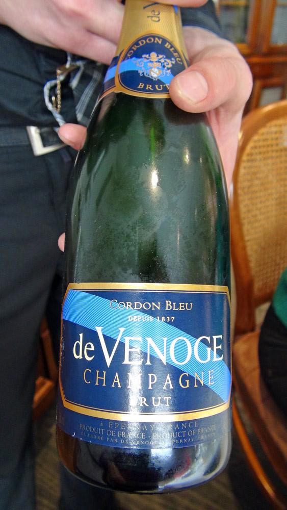 Champagne d'apéritif