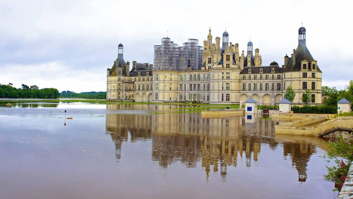 L'extérieur du château - Source photo : https://www.facebook.com