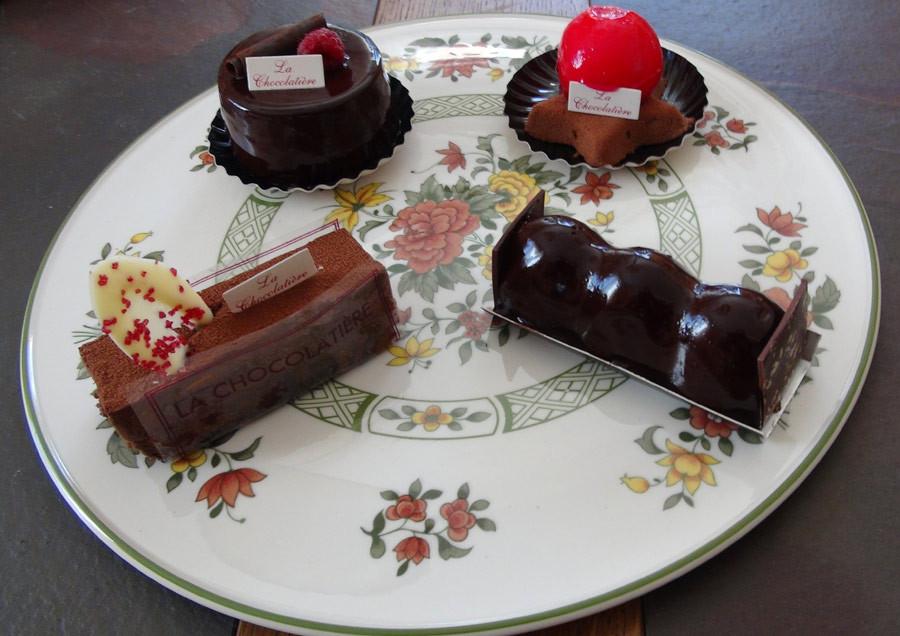 Les 4 desserts choisis