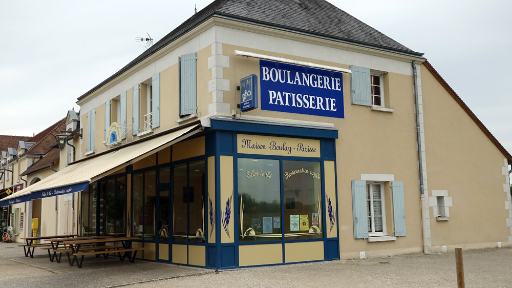 La boulangerie de Nicolas Boulay à Candé-sur-Beuvron