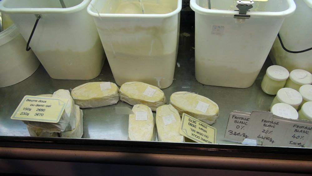 Beurre doux et demi-sel