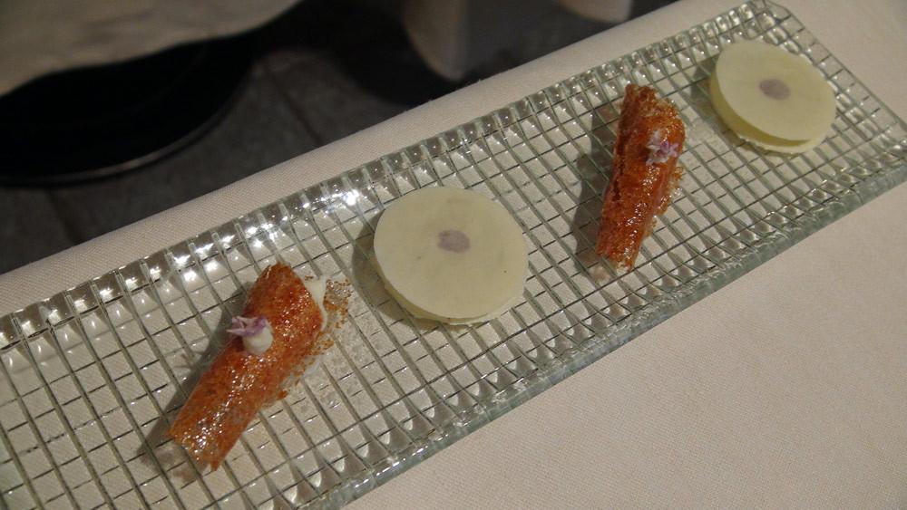 Palet amande praliné noisette - Brioche croustillante et crème à la levure