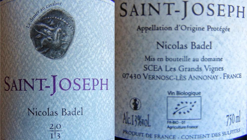 Saint-Joseph blanc 2013