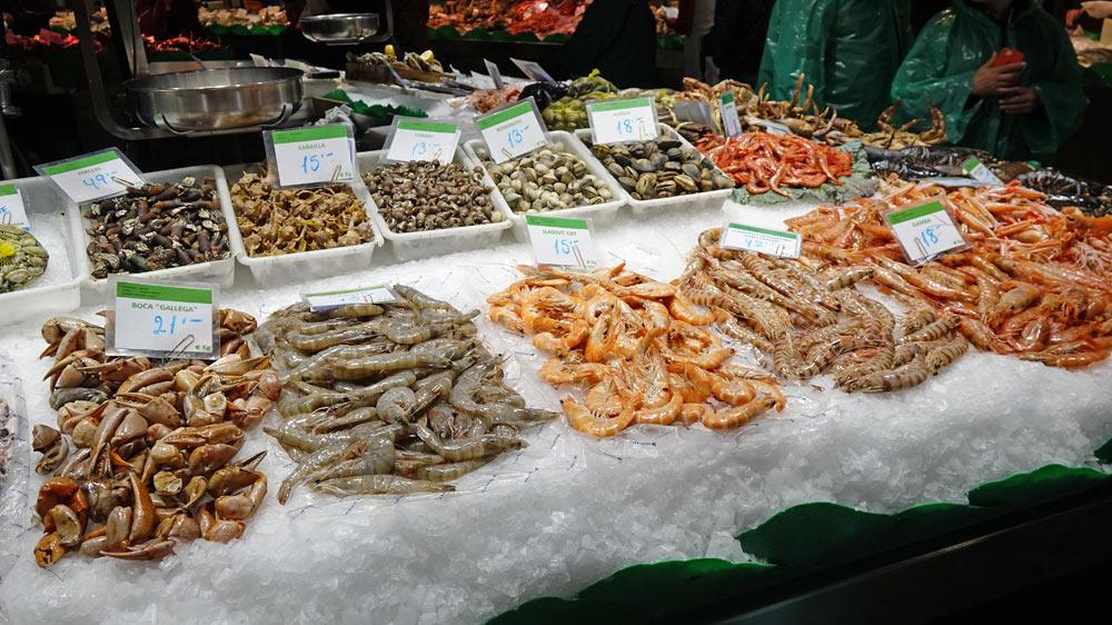 Attention, langostinos veut dire crevettes !