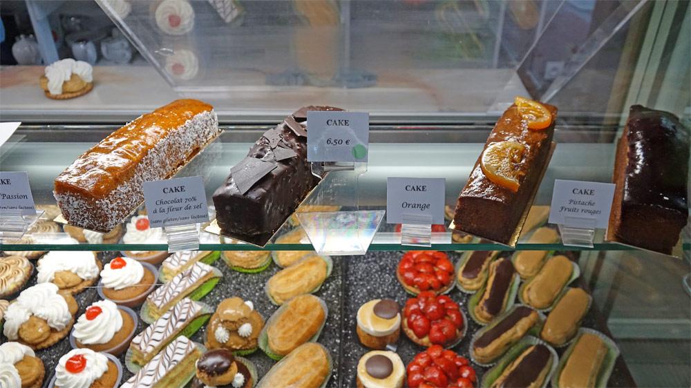 Cakes de voyage