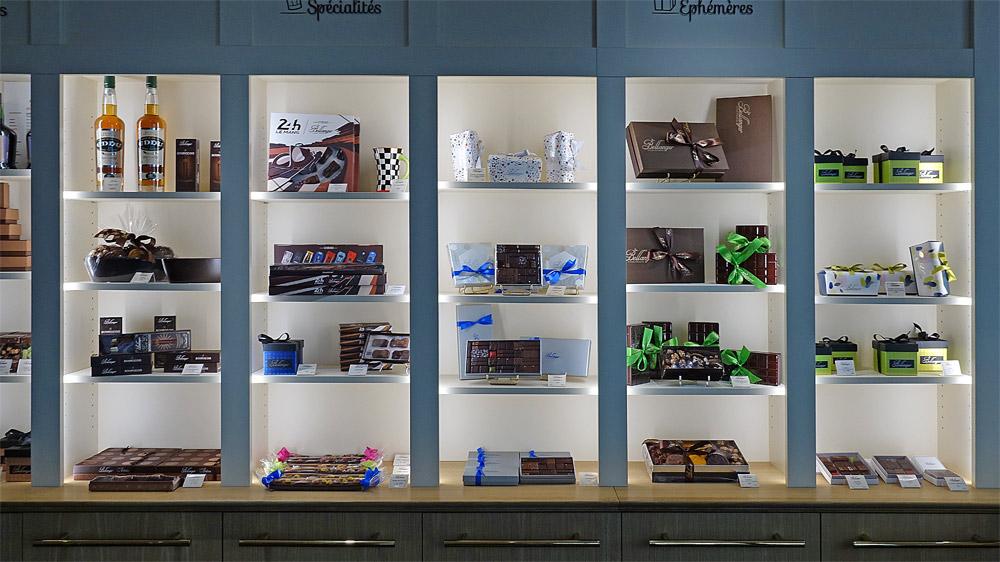 Chocolats en coffrets cadeaux
