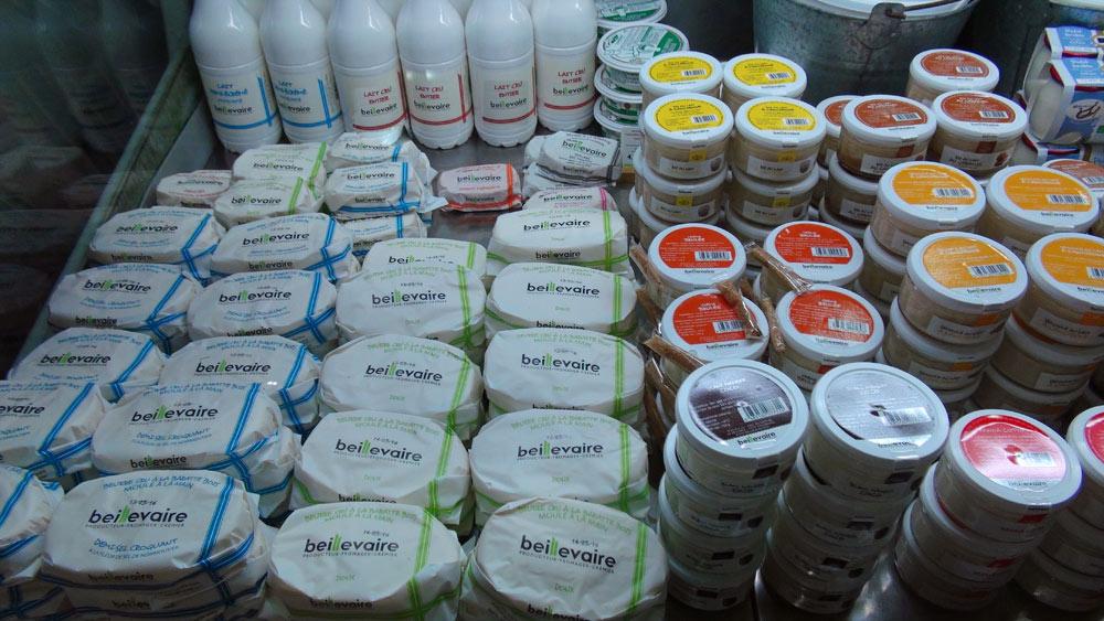 Beurres et préparations laitières