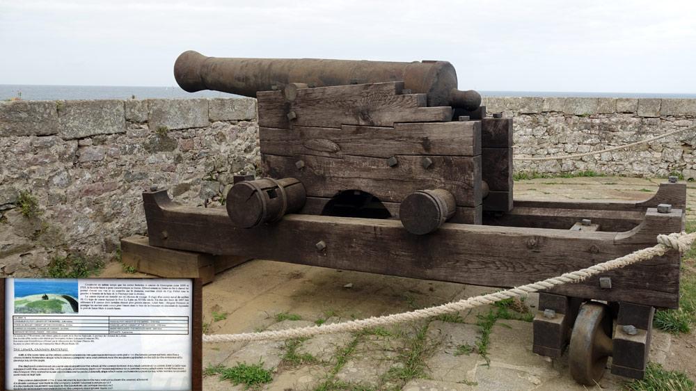 Batterie basse (fin XVII ème siècle)
