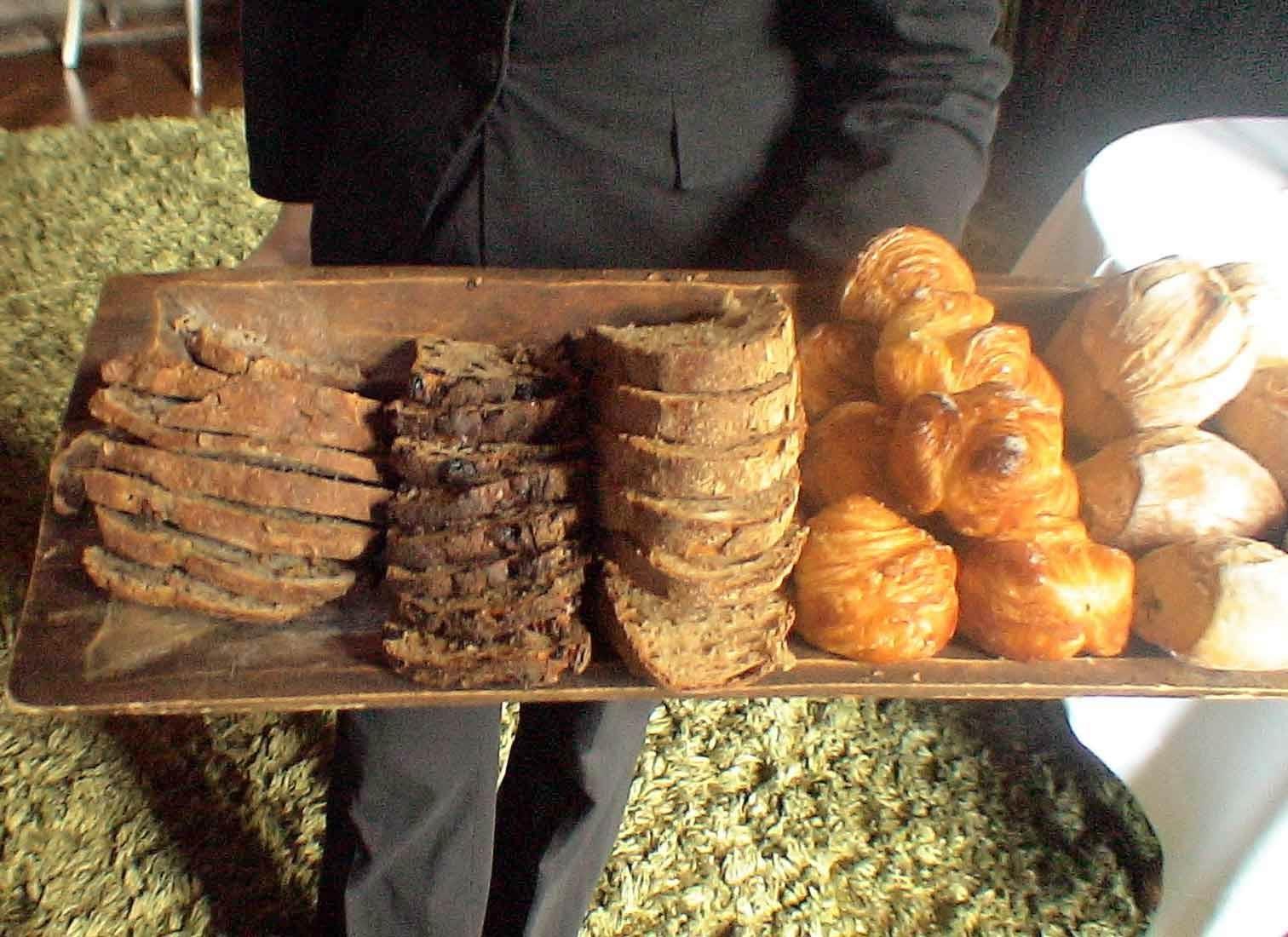 Les diférents pains