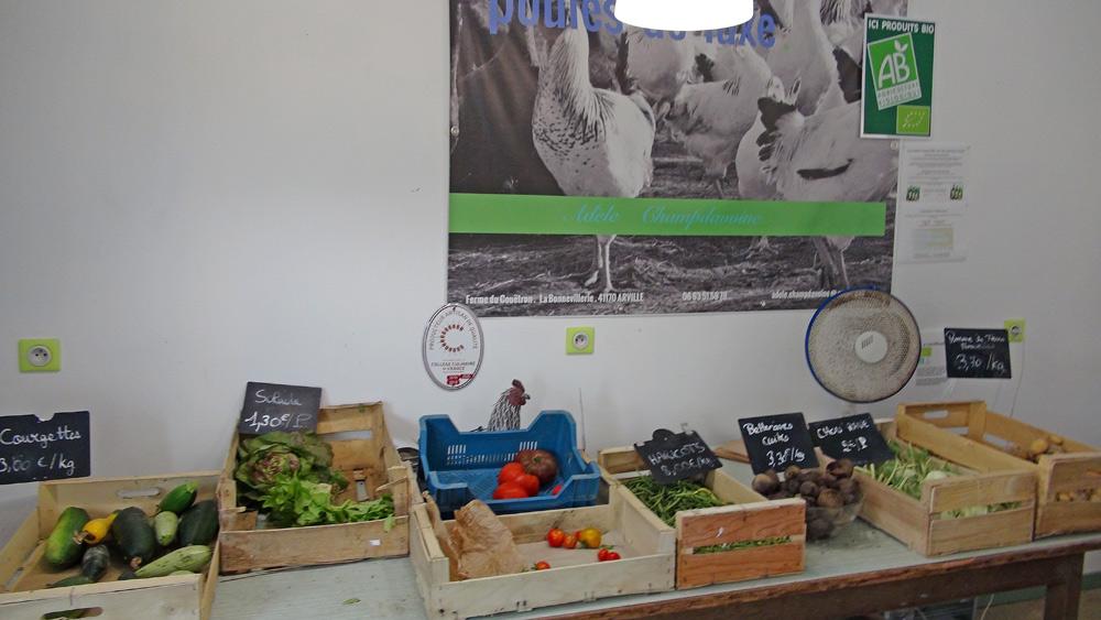 Quelques légumes ... Bio !