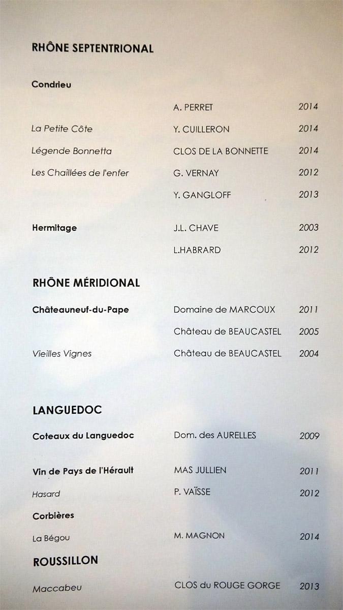 Rhône septentrional et méridional  - Languedoc et Roussillon