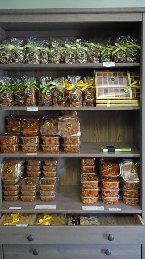 Pâtes de fruits - Aiguillettes