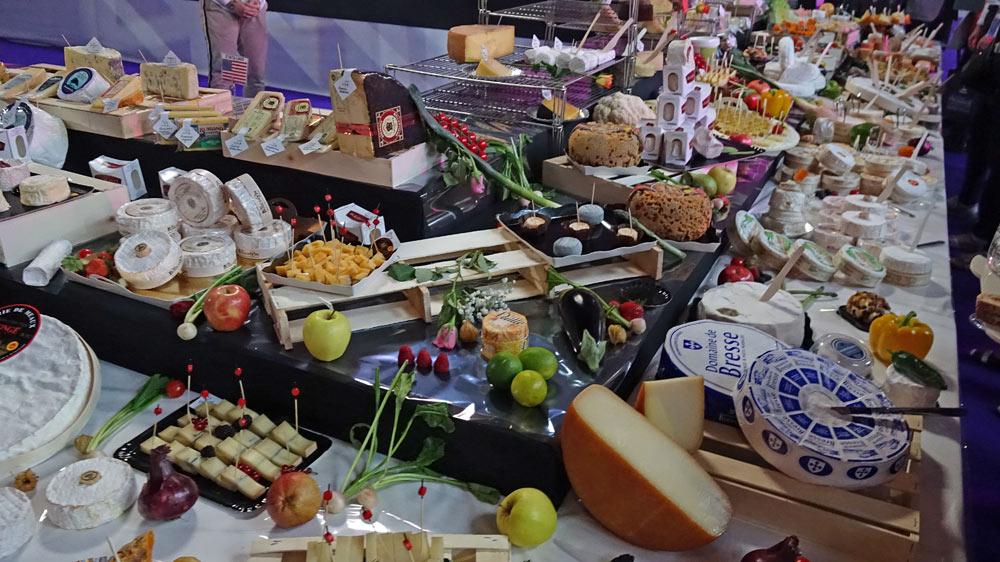 Quelques-uns des fromages proposés
