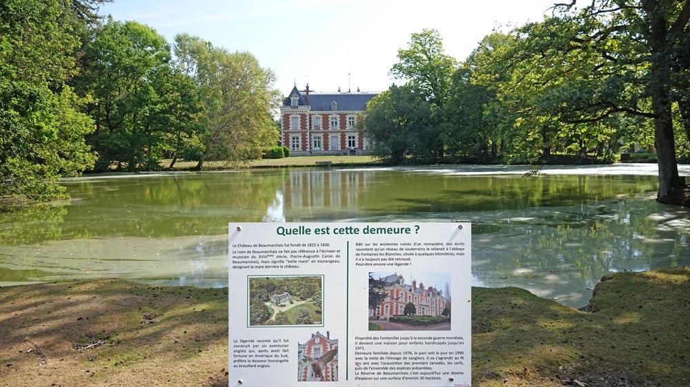 Le château de Beaumarchais