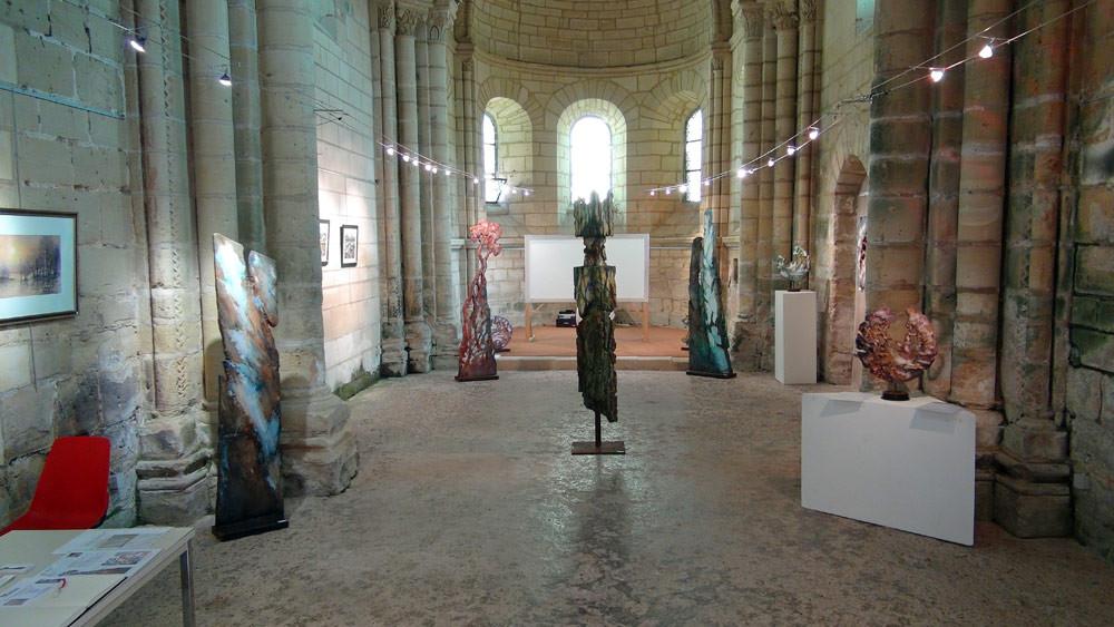 Expo dans la Chapelle Saint-Loup