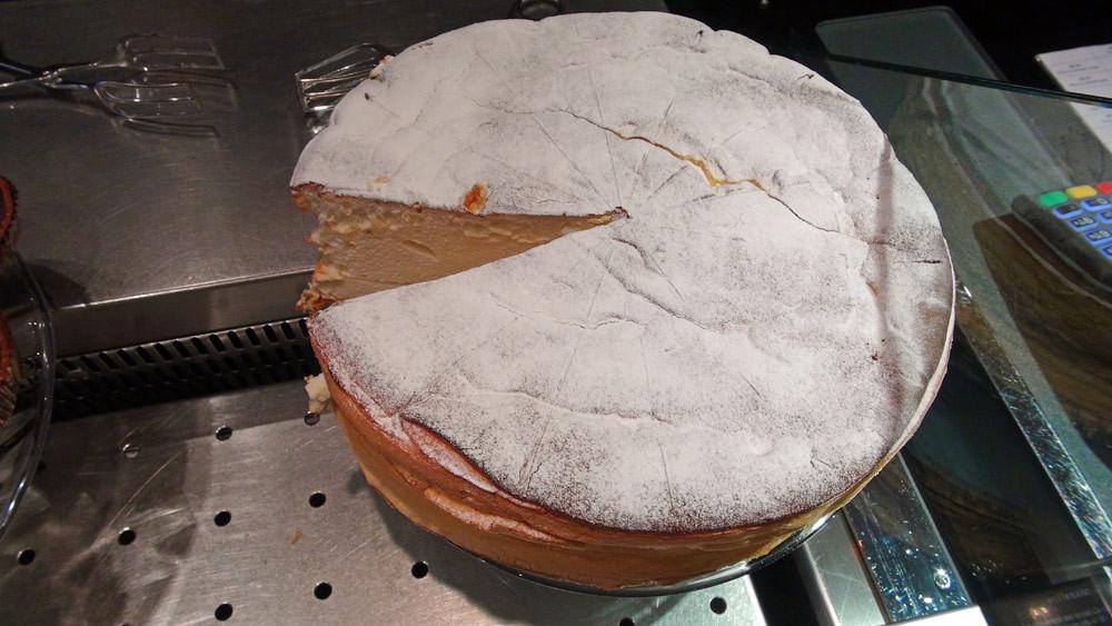 Mazaltov (gâteau type cheese-cake au fromage blanc 0% de matière grasse)