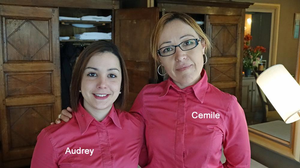 Les hôtesses de charme du Gindreau, Audrey et Cemile