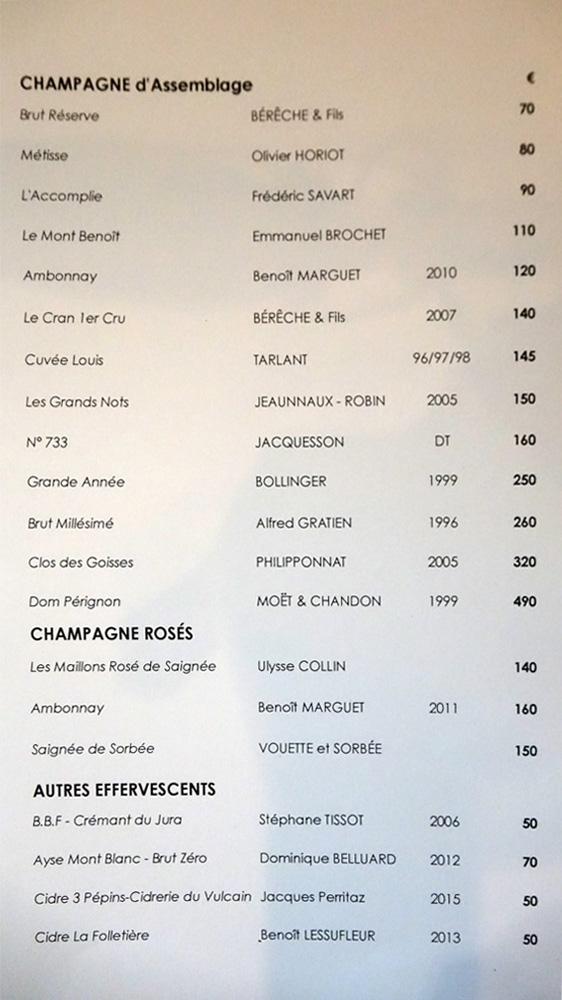Champagnes d'assemblage, rosés et Autres effervescents