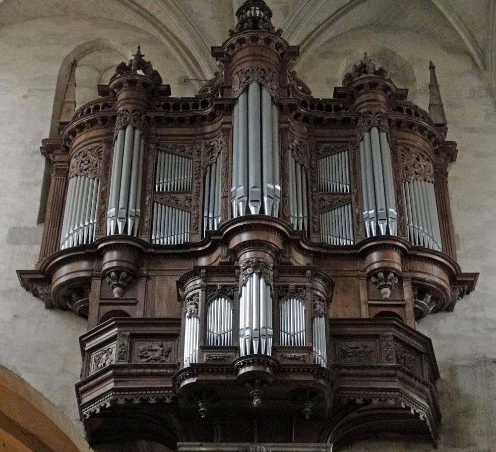 L'orgue de la cathédrale Saint-Etienne