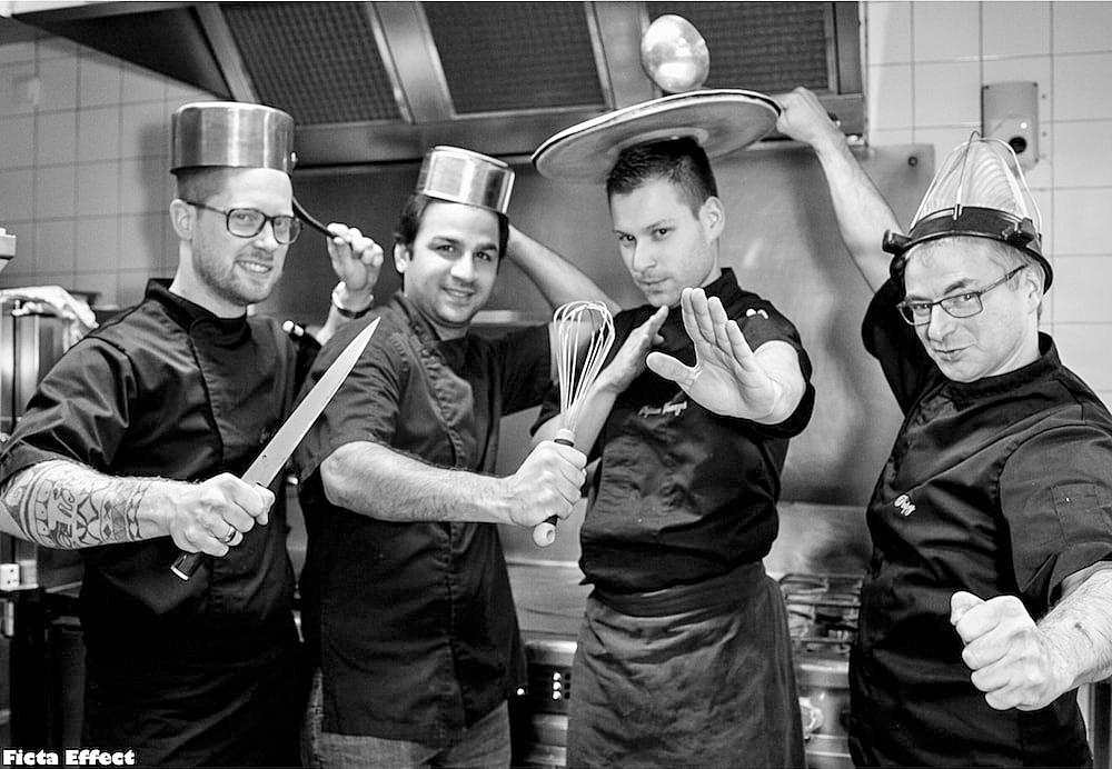L'équipe de cuisine - Crédit photo : Ficta effect (http://www.fictaeffect.com/fr)
