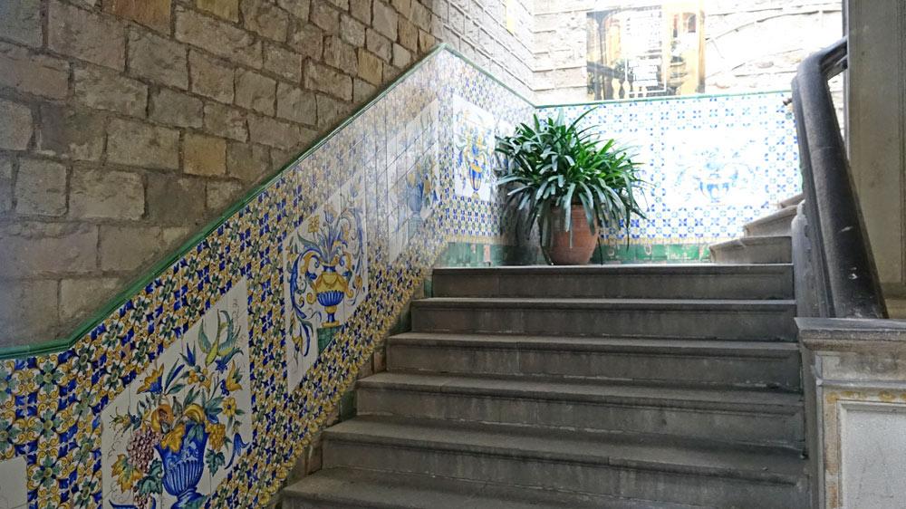 Un escalier