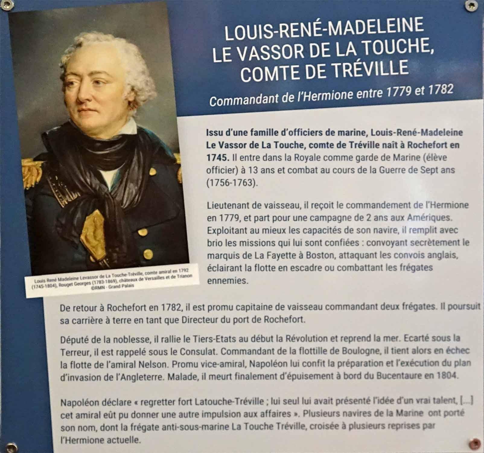 Louis-René-Madeleine Le Vassor de La Touche, comte de Tréville !