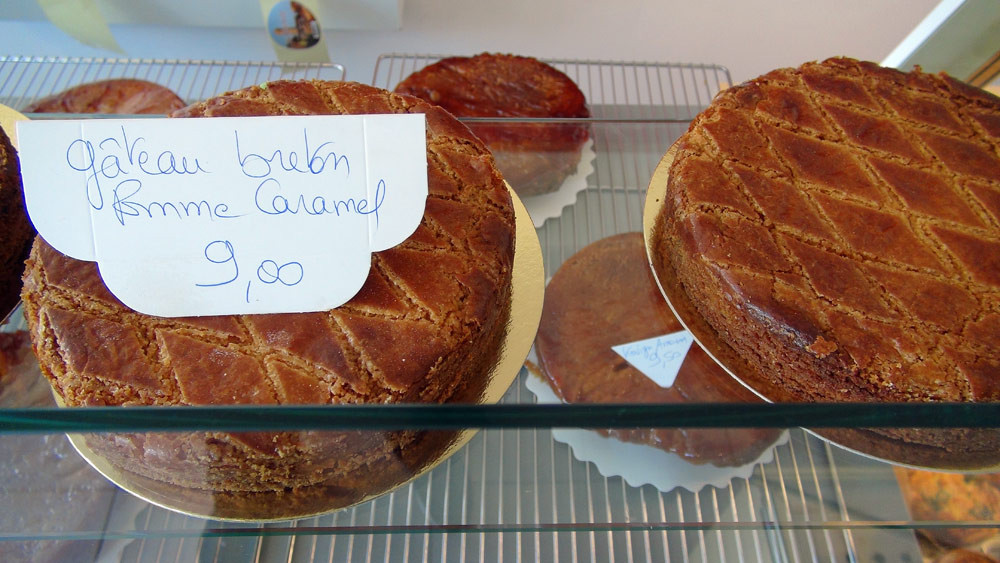 Gâteaux breton pomme/caramel