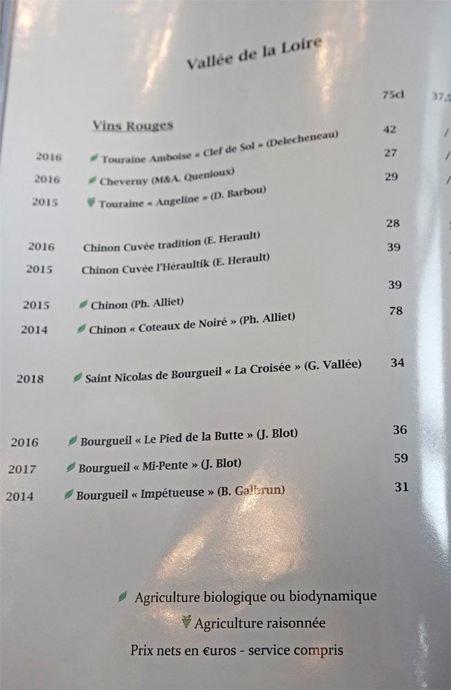 Vallé de la Loire rouge