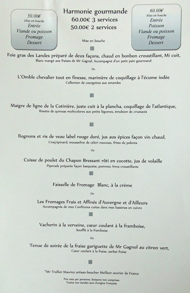 Autre menu