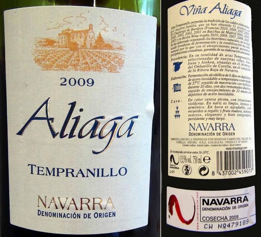 Vin rouge de Navarre