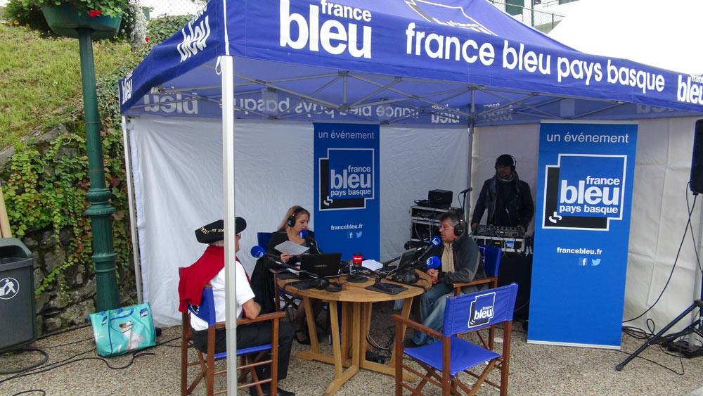 Animation assurée par France Bleue Aquitaine