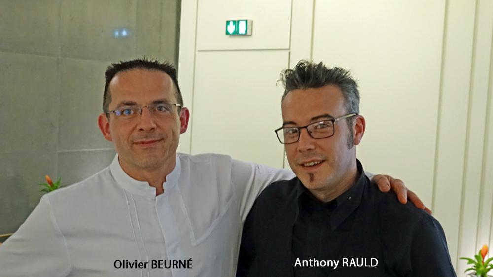 La nouvelle équipe à compter du 11 décembre 2017 : Anthony Rauld et Olivier Beurné