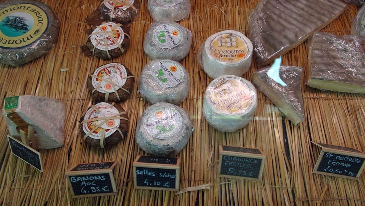 Autres fromages commercialisés par Romain Dubois