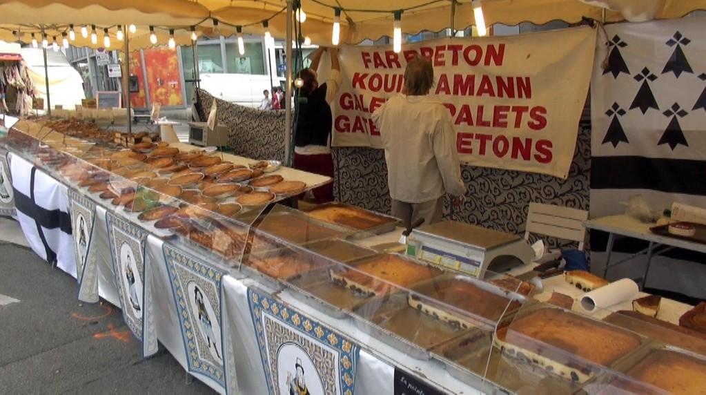 Kouing-aman et gâteau breton ... un peu chers tout de même !