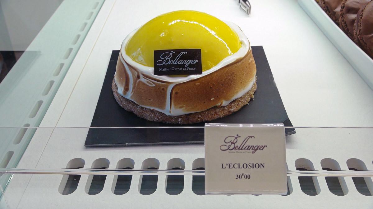 """L'Éclosion, un gâteau au citron bien dans le thème """"Pascal"""""""