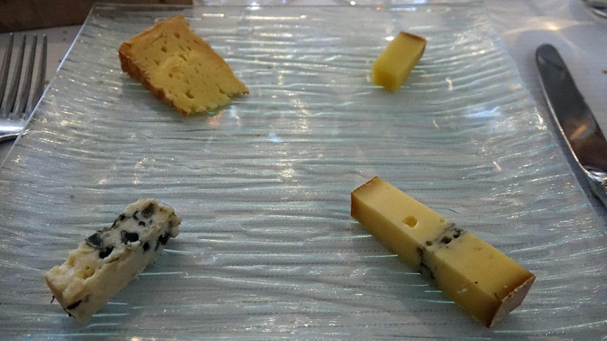 Mes 4 fromages : Livarot - Abondance - Morbier - Bleu d'Auvergne