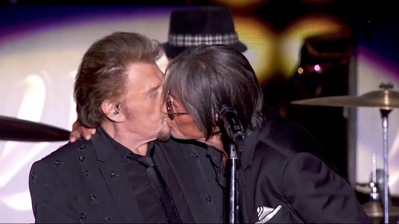 Intermède du baiser ... - Crédit photo TF1